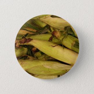 Corn Pinback Button