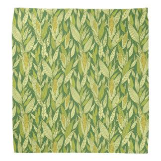 Corn plants pattern background bandana