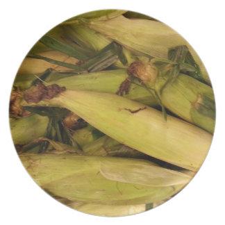 Corn Dinner Plate