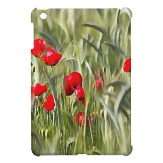 Corn Poppies iPad Mini Cases