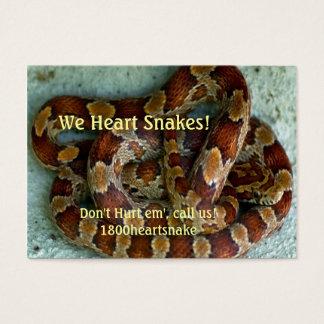 Corn Snake Business Card