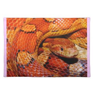 Corn Snake Cloth Place Mat