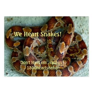 Corn Snake Large Business Cards (Pack Of 100)