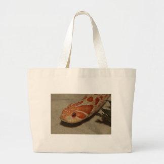 Corn snake large tote bag