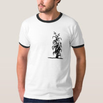 Corn stalk silhouette T-Shirt