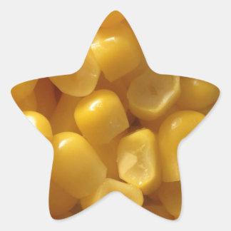 corn star sticker