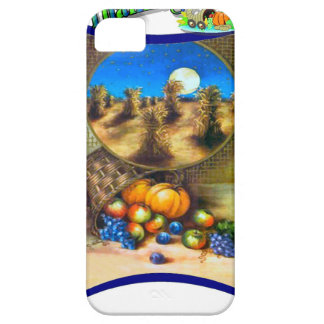 Corn stooks and pumpkins at Thanksgiving iPhone SE/5/5s Case