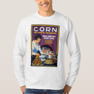 Corn The Food of the Nation, 1918 T-Shirt