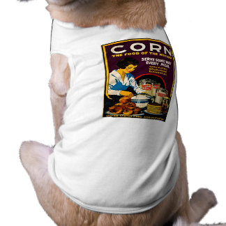 Corn - The Food of the Nation Dog Tee Shirt