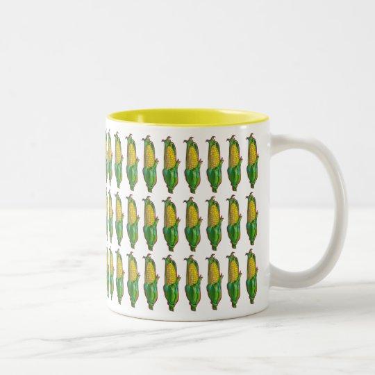 Corn Two-Tone Coffee Mug