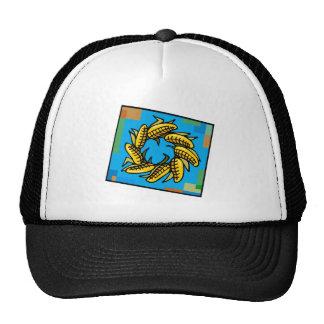 Corn Wreath for Kwanzaa Mesh Hats