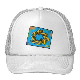 Corn Wreath for Kwanzaa Hats