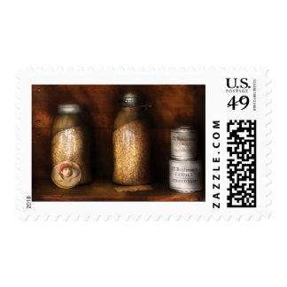Corn, Yams, and Oatmeal Postage Stamp