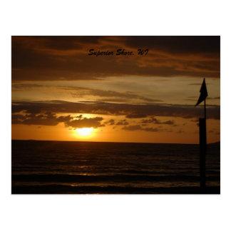 Cornacopia Shore, Superior Shore, WI Postcard