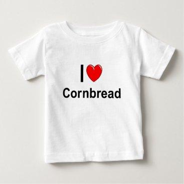 Valentines Themed Cornbread Baby T-Shirt