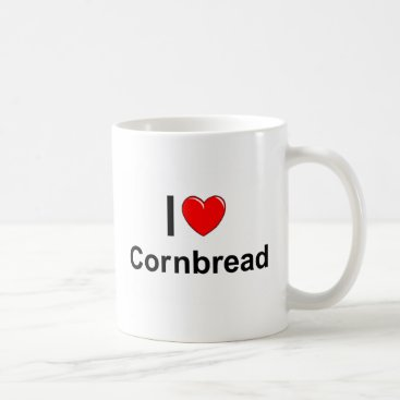 Valentines Themed Cornbread Coffee Mug