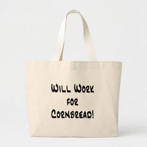 Cornbread Jumbo Tote Bag