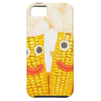 Corncobs with eyes and mouth.jpg iPhone SE/5/5s case