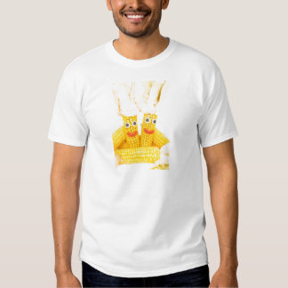 Corncobs with eyes and mouth.jpg T-Shirt