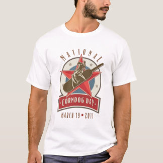 Corndog Day Rodeo Logo T-Shirt