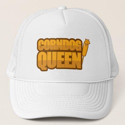 Corndog Queen Corn dog lover Gift Trucker Hat