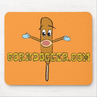 Corndogger.com Logo Mouse Pads