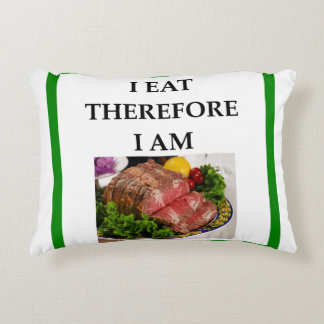 corned beef accent pillow