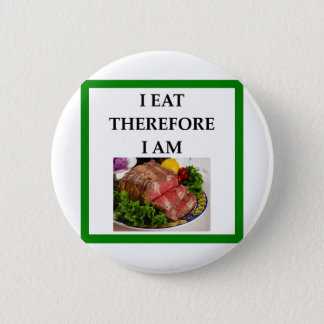 corned beef pinback button