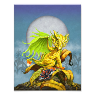 Corned Dragon 8.5x11 Print