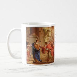 Cornelia Has the Crown of Ptolemaic dynasty Back Coffee Mug