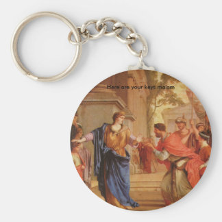 Cornelia Has the Crown of Ptolemaic dynasty Back Keychains