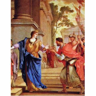 Cornelia rechaza la corona del Ptolemies por el La Fotoescultura Vertical