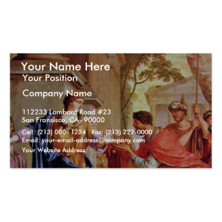 Cornelia Rejects The Crown Of The Ptolemies By La Double-Sided Standard Business Cards (Pack Of 100)