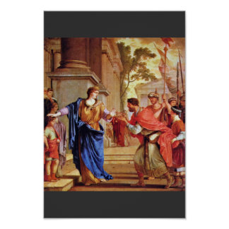 Cornelia Rejects The Crown Of The Ptolemies By La Print