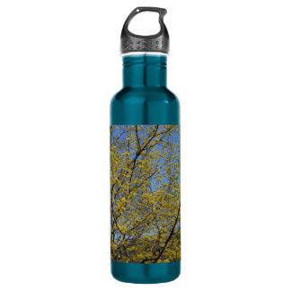 Cornelian Cherry Blossoms Stainless Steel Water Bottle