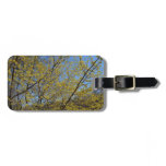 Cornelian Cherry Dogwood and Blue Sky Bag Tag