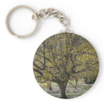 Cornelian Cherry Dogwood and Glory of the Snow Keychain