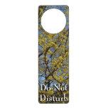 Cornelian Cherry Dogwood Blossoms and Blue Sky Door Knob Hangers