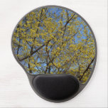Cornelian Cherry Dogwood Blossoms and Blue Sky Gel Mouse Pad