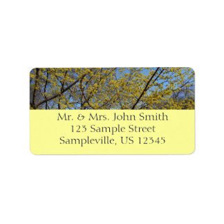 Cornelian Cherry Dogwood Return Address Label