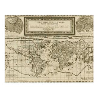 Cornelio de Jode 1593 Tarjeta Postal