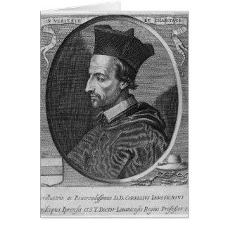 Cornelio Jansen, obispo de Ypres Tarjeta De Felicitación