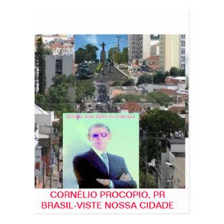 CORNELIO PROCOPIO, PR BRAZIL POSTCARD