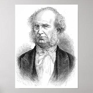 Cornelio Vanderbilt, c.1877 Póster