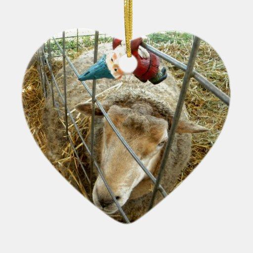 Cornelio y las ovejas ornato