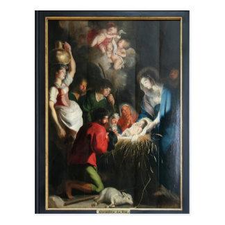 Cornelis de Vos- The Birth of Jesus Postcard