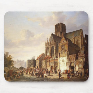 Cornelis Springer- View of Montelspran Mouse Pad