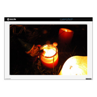 "Cornelius Candle 17"" Laptop Skin"