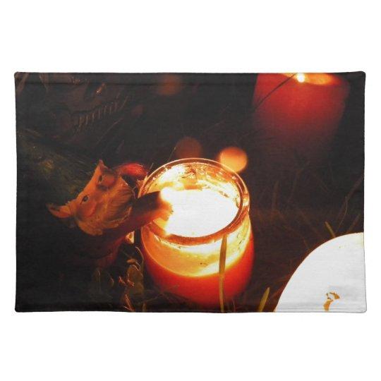 Cornelius Candle Cloth Placemat