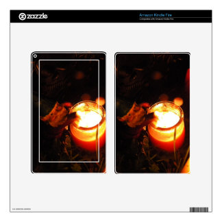 Cornelius Candle Kindle Fire Decals